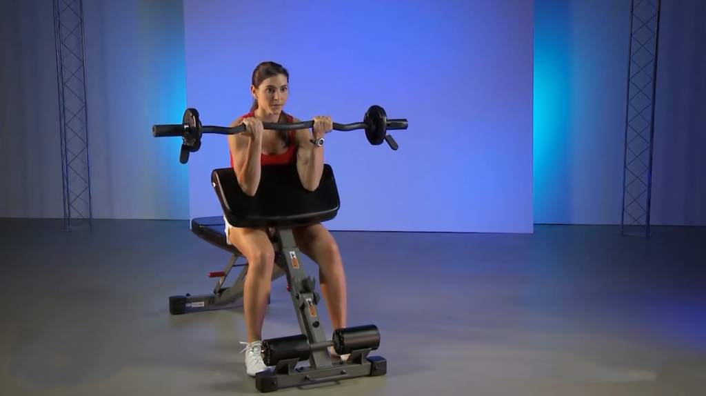 How To Do The Dumbbell Hammer Preacher Curl?